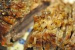 Hvidløgscuvette med sprødstegte kartofler, rødløg og peberfrugt