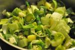 Kartoffelporresuppe med hvidløg