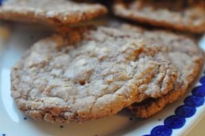 Lækre cookies med marcipan - af konfektrester