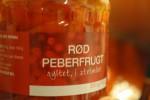Lækker kraftig med tomatsuppe med peberfrugt, flødeost og fløde
