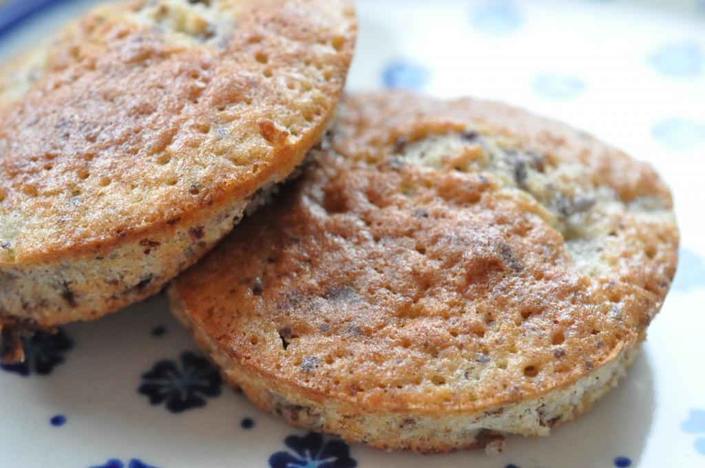 Lækre muffins med banan og chokolade