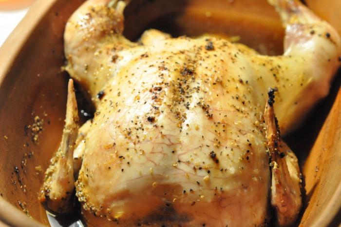 Römertopfen sejrer - saftig stegeso kylling i øl | NOGET I OVNEN HOS BAGENØRDEN