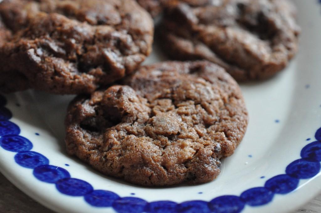 Cookies opskrift med hasselnødder og Nutella