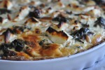 Smuk grov spinattærte med feta og pinjekerner