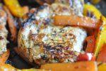 Koteletter med grøntsager - nem sund opskrift