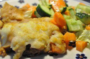 Shephards Pie med oksekød og spidskål