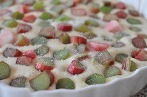 Nem og lækker rabarbertærte - sommerens hurtigste