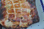 Grillet sennepsmarineret hamburgerryg med timian