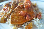 Koteletter i fad - opskrift med bacon og fløde