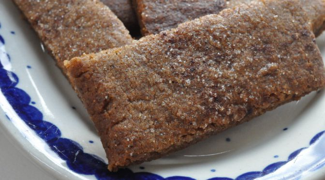 Bastogne – nemme, sprøde snitter med krydderier