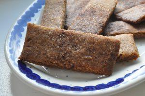 Bastogne - sprøde, lækre snitter med krydderier
