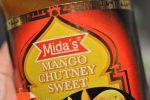 Karrysauce med porrer, pølser og mango chutney