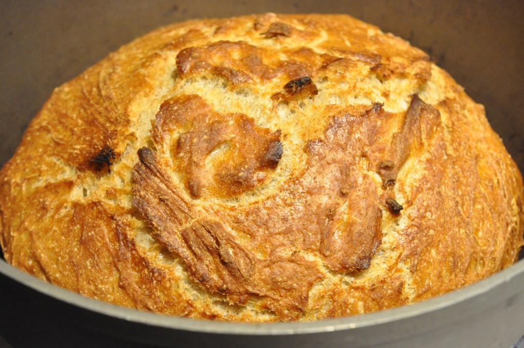 Verdens bedste brød med rugmel - grydebagt
