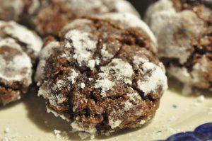 Bristede drømme - krakelerede chokoladesmåkager