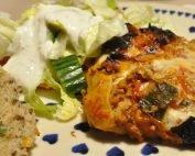 Lasagne med grøntsager og bechamelsauce