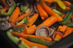 One pot pasta med kylling, fløde og grøntsager - SÅ lækkert!