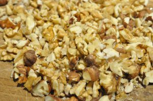 Toscakager med nøddetopping - små, sprøde og lækre