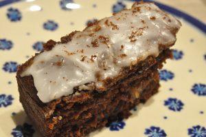 Chokoladekage i bradepande - fedtfattig og lækker