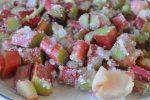 Rabarbertærte med kokos og marcipan - nem og lækker