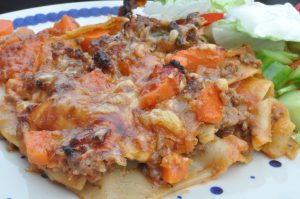Lasagne med grøntsager - nem og uden bechamelsauce