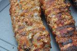 Svinemørbrad på grill - med marinade & sesam
