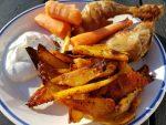 Pommes frites med paprika – sprøde, krydrede fritter