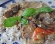 Svinemørbrad i flødesovs i ovn eller på pande