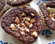 Brownie muffins med chokolade nem opskrift
