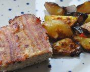 Farsbrød med bacon og cheddar ost - opskrift