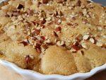 Pæretærte med ingefær og mandler – SÅ nem og lækker