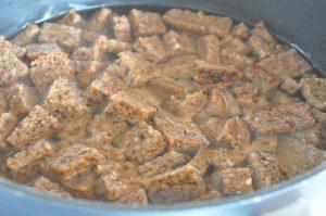 Øllebrød med æggesnaps og fløde - stop madspild