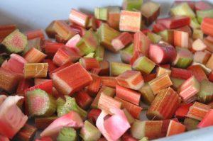 Rabarberkage med kokosmel - sommerens bedste!