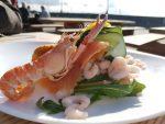 Café Kajkanten – sensommerlykke og fiskelækkerier