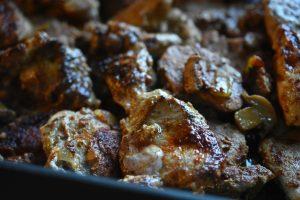 Vikingegryde - mørbradgryde med paprika, fløde og bacon