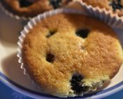 Brombær muffins - opskrift på nemme muffins