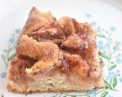 Æblekage i bradepande god opskrift med kanel