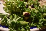 Salat med grønkål, æble og tranebær - opskrift