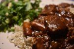 Vikingegryde – mørbradgryde med paprika, fløde og bacon