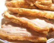 Flæskesteg - med ovnkartofler og bagte rodfrugter