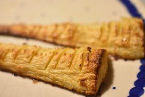 Hasselback pastinakker med salt og barbarcuekrydderi - SÅ lækre