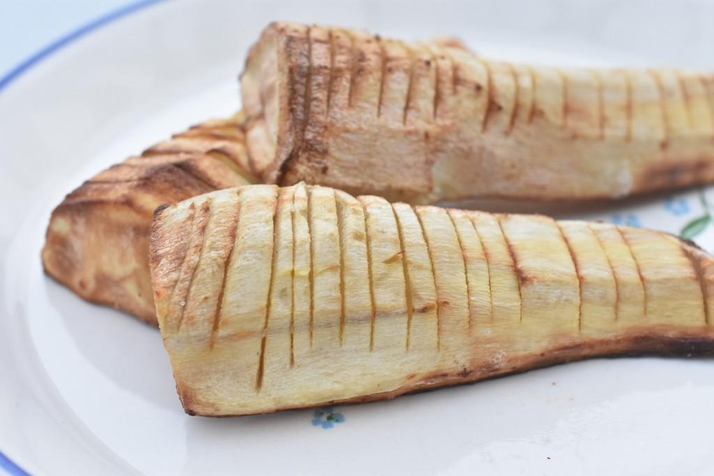 Pastinak i ovn - opskrift på bagte pastinakker