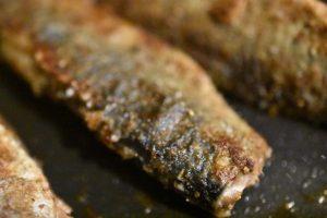 Stegte sild med rødløg - i eddikelage