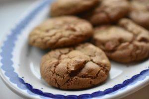 Cookies med lakrids og mandler - nemme og lækre