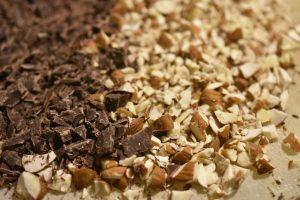 Marengs med chokolade og mandler - nemme og lækre