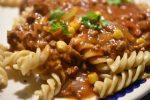 Spaghetti Bolognese med jalapenos – langtidssimret i crockpot