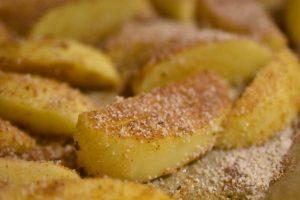 Pommes frites med rasp og krydderi - sprøde og SÅ lækre