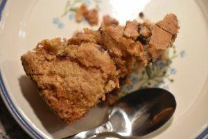 Sukkerbrødskage med brombær og kokos - nem og fedtfattig