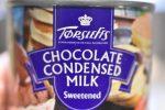 Flødekarameller af chokolade kondenseret mælk