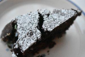 Chokoladekage med espresso - nem, lækker og fedtfattig