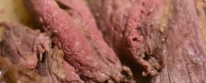 Culottesteg med hvidløg og bagte løg